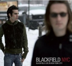 Blackfield Live In New York City CD cover