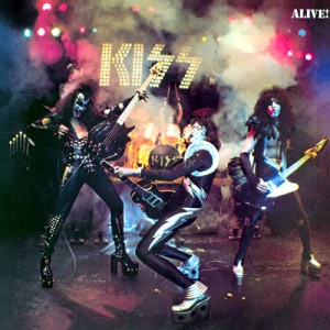 Kiss Alive 300x300 Drummers and their Big Drum Sets   Who plays the largest drum set?