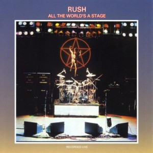 Rush All The Worlds A Stage 300x300 Drummers and their Big Drum Sets   Who plays the largest drum set?