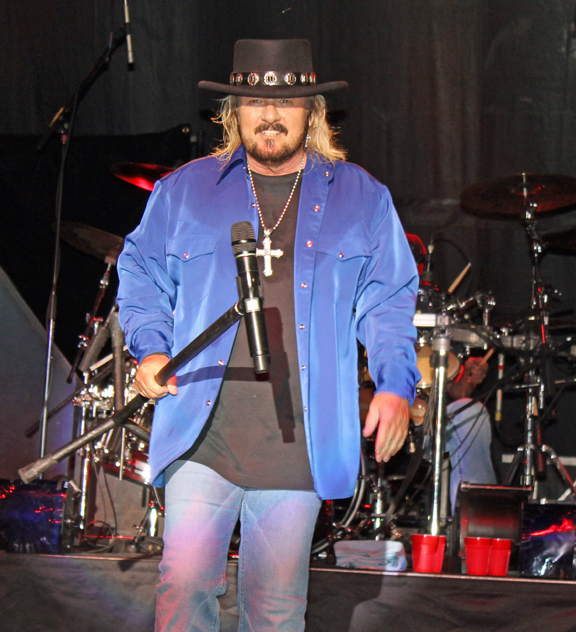 Donnie Van Zant at Clyde Iron Duluth Minnesota