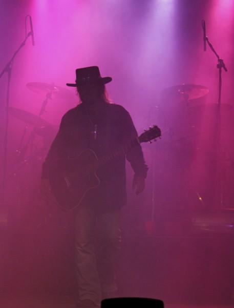 Donnie Van Zant in Fog