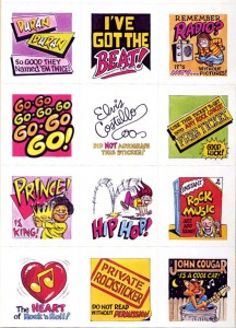 scholastic002 216x300 Stuck on Scholastics 1984 Music Stickers