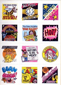 scholastic003 214x300 Stuck on Scholastics 1984 Music Stickers