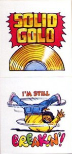 scholastic025 142x300 Stuck on Scholastics 1984 Music Stickers