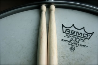Snare Drum and Sticks
